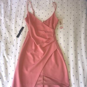 Pink Sunset + Spring dress from Bloomingdale's